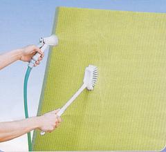 水洗いできる畳