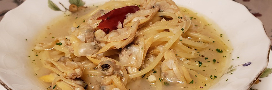 パスタ ボンゴレ スープ